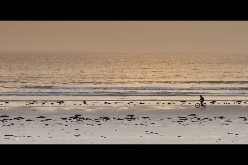 Sunset à vélo - Denneville (3587)