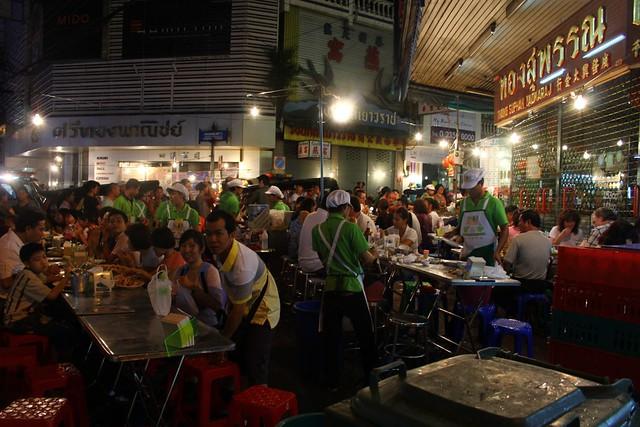 Bangkok: Green Shirt T&K Seafood, Yaowarat Chinatown