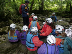 Gorge Walking North Wales 2011
