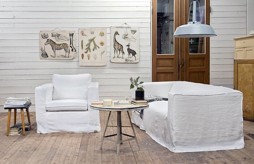 Loose Fit Sofa + Chair Covers For IKEA Furniture