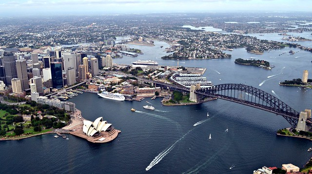Sydney Harbour Bridge and Sydney Opera House