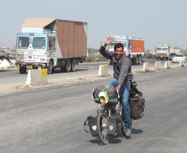 Indian on my bike