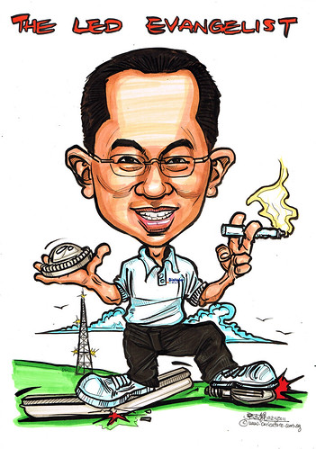 Caricature for Dialight Corporation