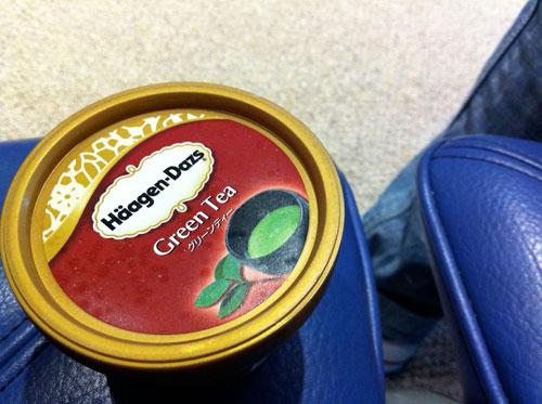 日本機場冰淇淋