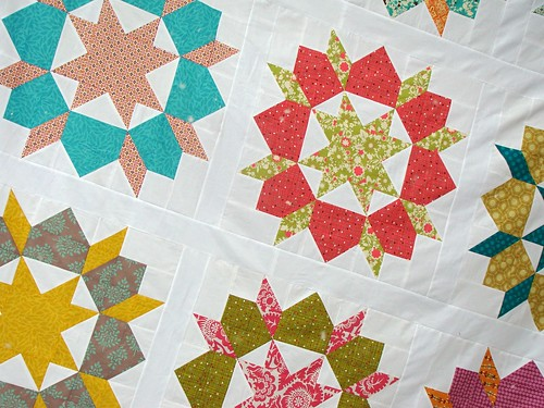 swoon quilt top