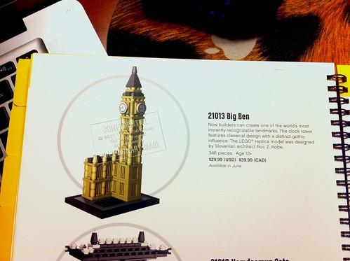 Toy Fair 2012 - Architecture - 21013 Big Ben