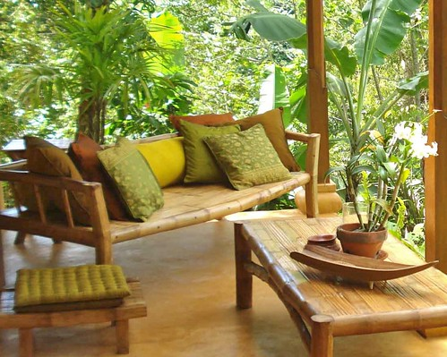 Il bello dei mobili in bambu