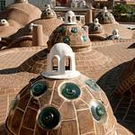 Rooftop of Hammam-e Sultan Mir Ahmad - Kashan, Iran