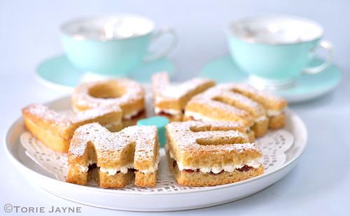 Gluten free Victoria sandwich cake Love Letters