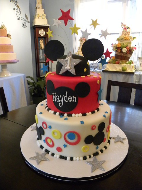 Images Of Mickey Mouse Clubhouse Birthday Cakes : photo