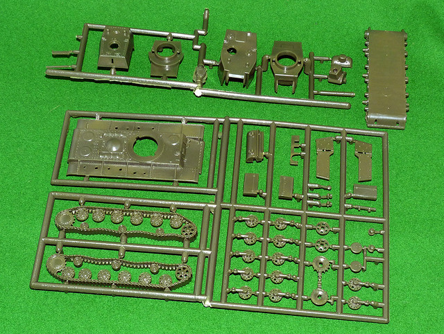 Pegasus 1/72 KV Quick Build set - all sprues