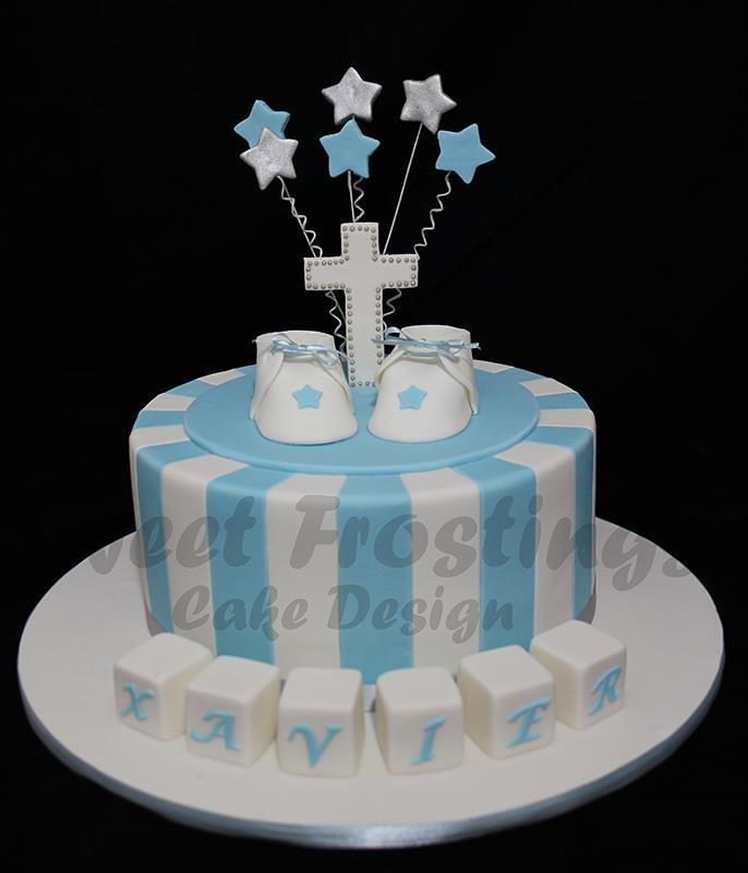 Baptism Cakes For Boys Baptism Cakes For Boys