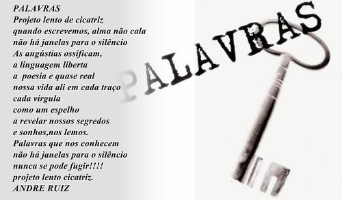 PALAVRAS by amigos do poeta