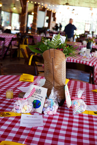 Cowboy Boot Flower Bouquet