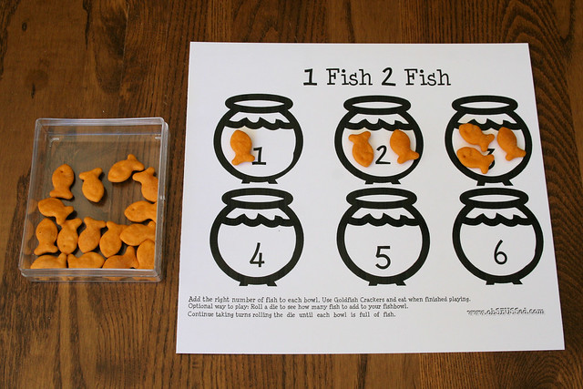 One Fish Two Fish Counting Activity