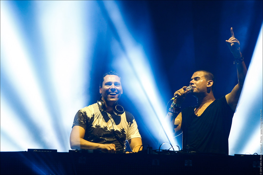 49. DJ Tiësto & Afrojack, the Dutch Dons at Ultra Music Festival 2012