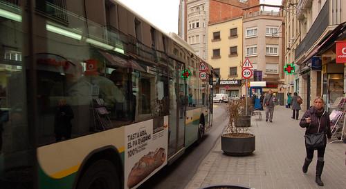 Passeig de la plaça Major.