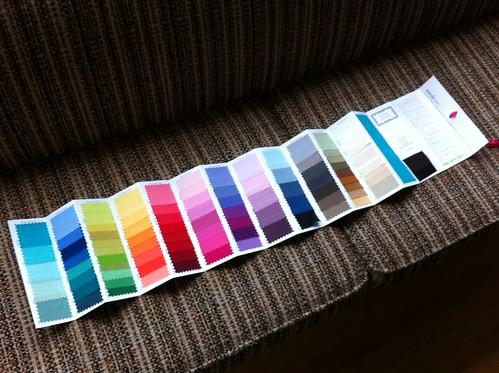 Michael Miller Cotton Couture color card!