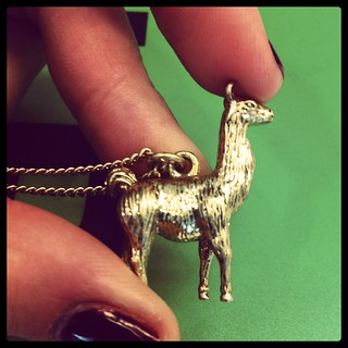 Lama necklace!