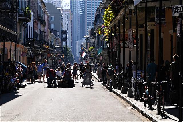 street music - french quarter - new orleans
