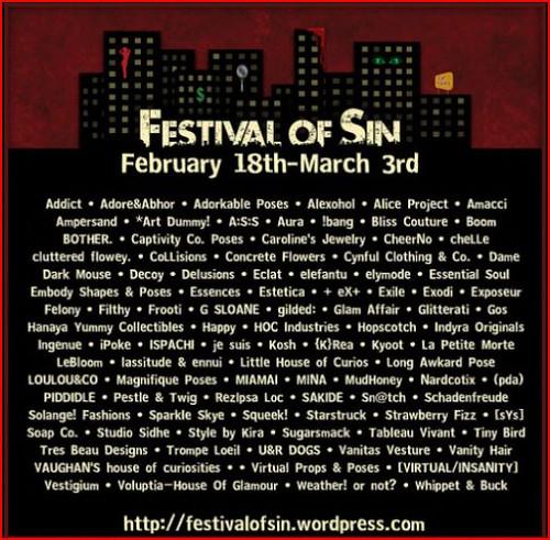 festival of sin