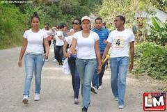 Caminata de la amistad 2012, Villa Trina- Hacienda Henríquez