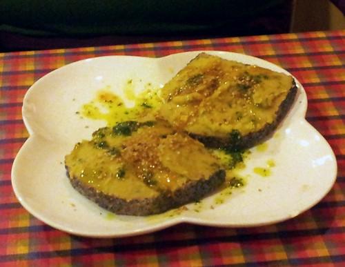 Burgos | El Jardín de Etna | Paté vegetal (no es oca, pero tampoco cerdo)