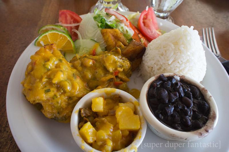 Meals in Costa Rica - Los Brasitos - La Fortuna/Arenal