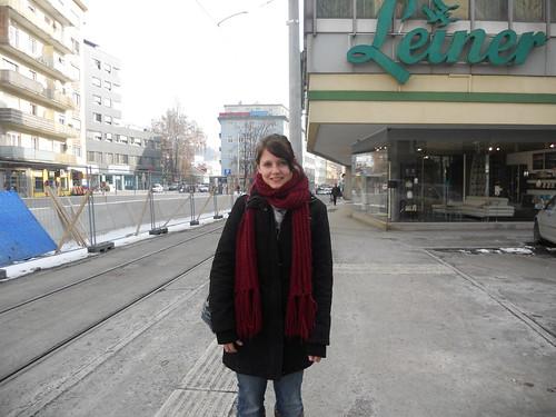 Christina Breitfuß hat von der geplanten Verbreiterung der Gehsteige gehört