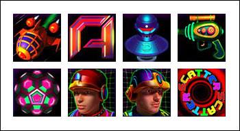 free Drone Wars slot game symbols
