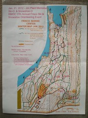 Jim Plant Memorial Ski Orienteering Contest Map