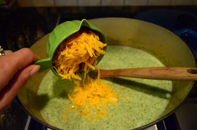 2012-02-19 Broccoli Cheese Soup 061