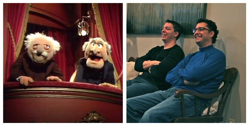 statler and waldorf collage