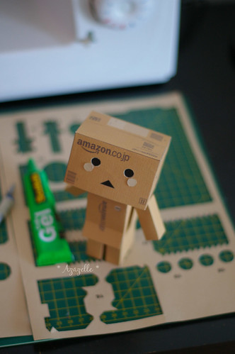 [PaperCraft Danbo] Welcome home