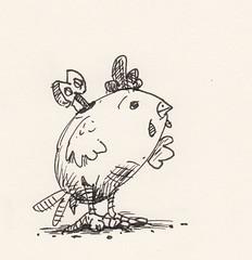 Drawing twenty : a clockwork chicken