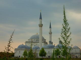 Two or three minarets?  (Edirne, Turkey)