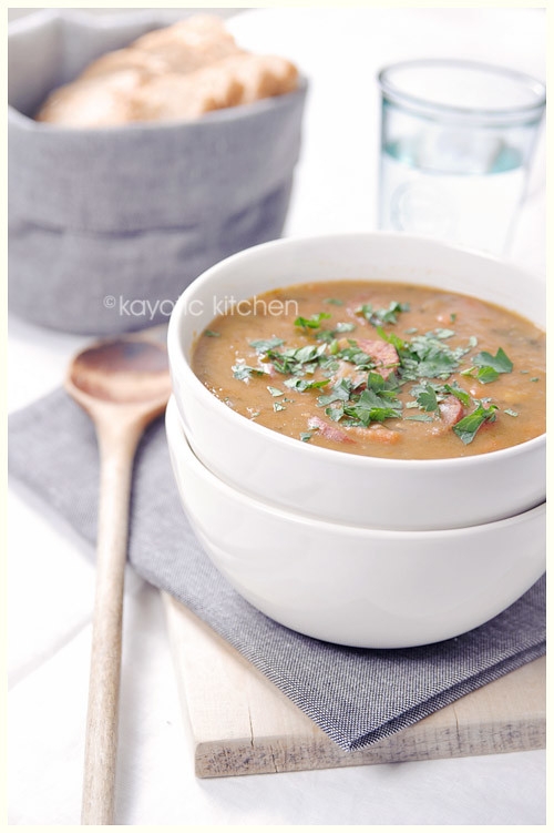 Spanish-Style Split Pea Soup