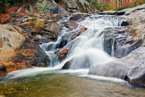 autumn fall waterfall fallcolors northcarolina graggprong upperwaterfallongraggprong