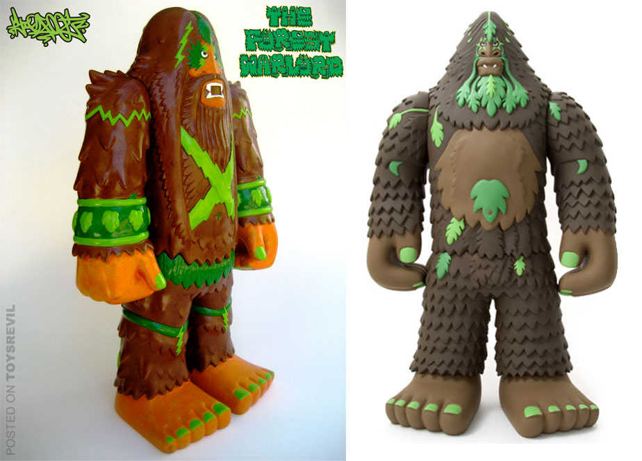 The Forest Warlord By Bigfoot