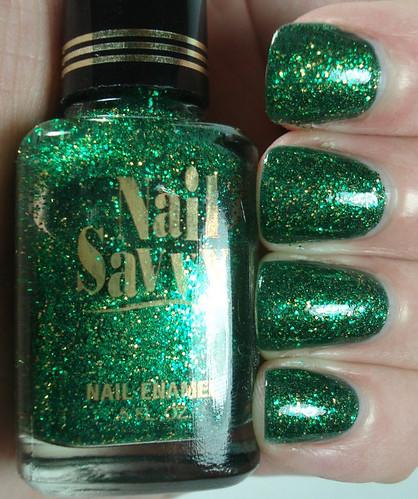Nail Savvy Elegant Emerald