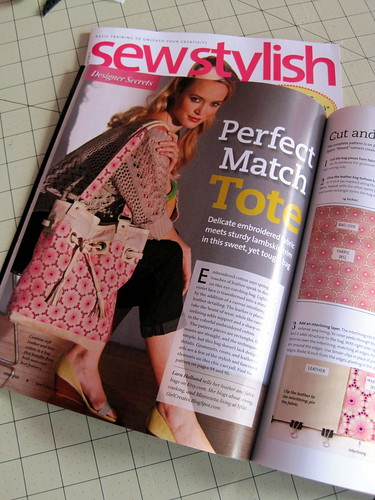 Sew Stylish, Spring 2012