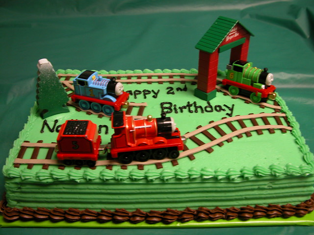 Make A Train Shaped Cake