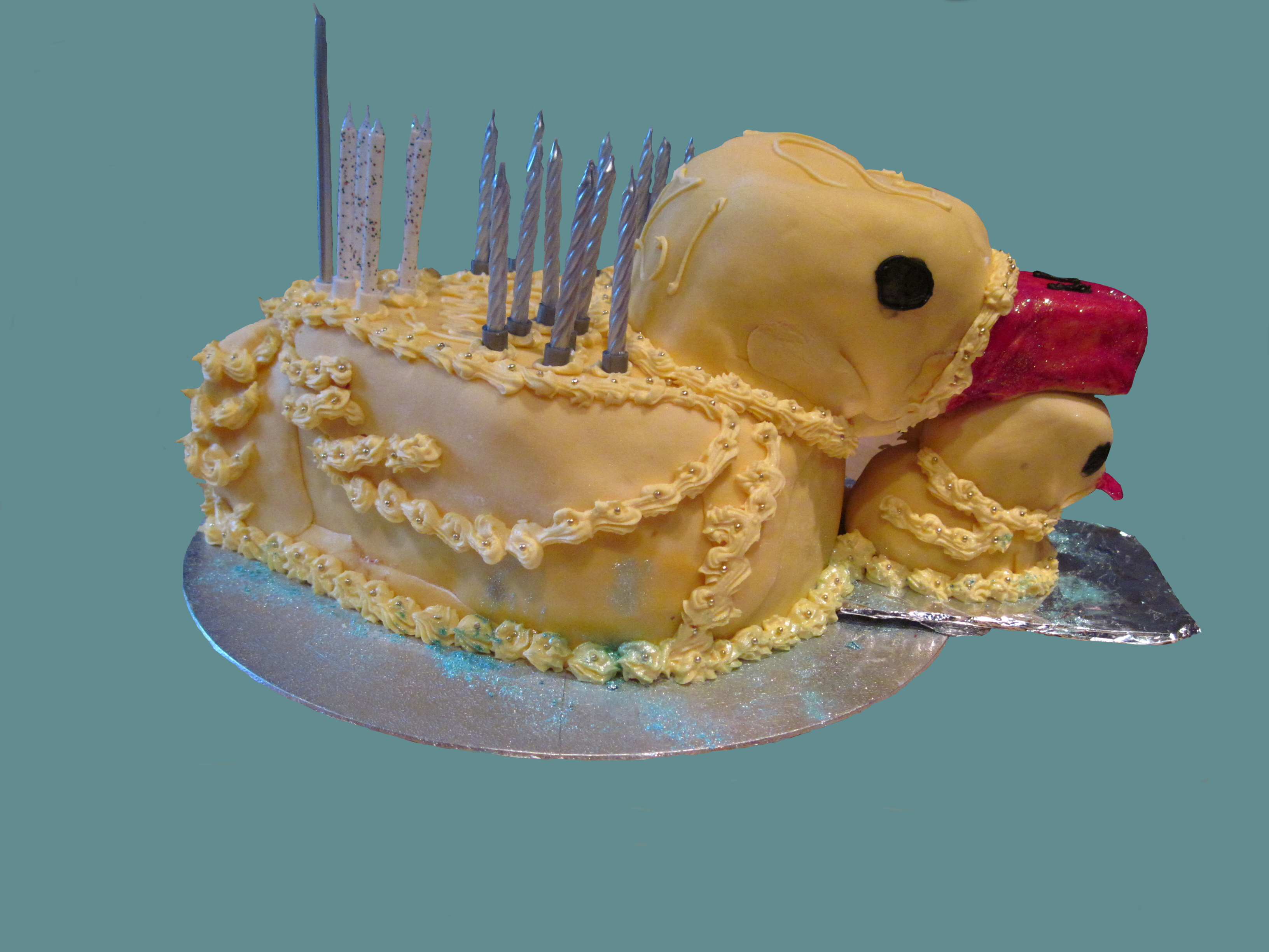 Rubber Ducky Cake Designs