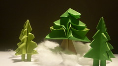 Paper Christmas 33 Photos | Origami Tree | 961
