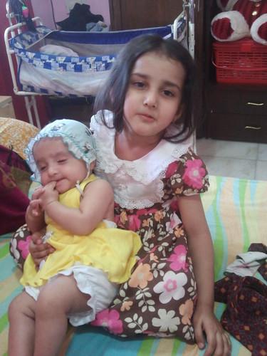 My Grand Daughters Marziya and Zaira.. by firoze shakir photographerno1