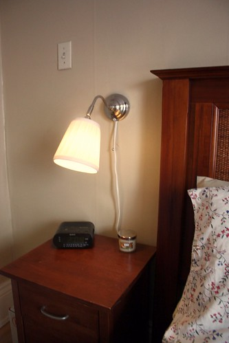 Bedroom Wall Lamps With Cords : New Bedroom Lamps - Life at Cloverhill