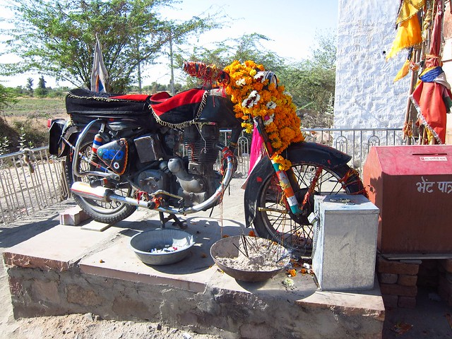 Motorbike Temple