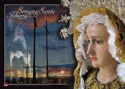 Cartel Semana Santa de Tobarra 2012