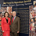 First Lady of Oregon Cylvia Hayes meets with Under Secretary for Food and Consumer Services Kevin Concannon