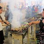 Carnes Asadas Aisle at Tlacolula Market, Mexico